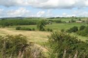 Farmland beside the Bonny Water
