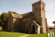 Buckland-tout-Saints: parish church of St. Peter