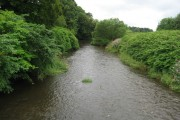 River Kelvin near the Cawder Golf Courses