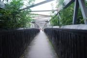 Bridge over the Metro, Chillingham Rd, Heaton, Newcastle upon Tyne