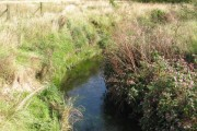 Clear water of the River Erewash