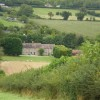 Lower Farm from the footpath up the hill