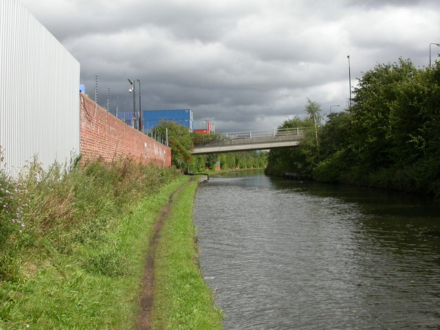 Trafford Park, canal