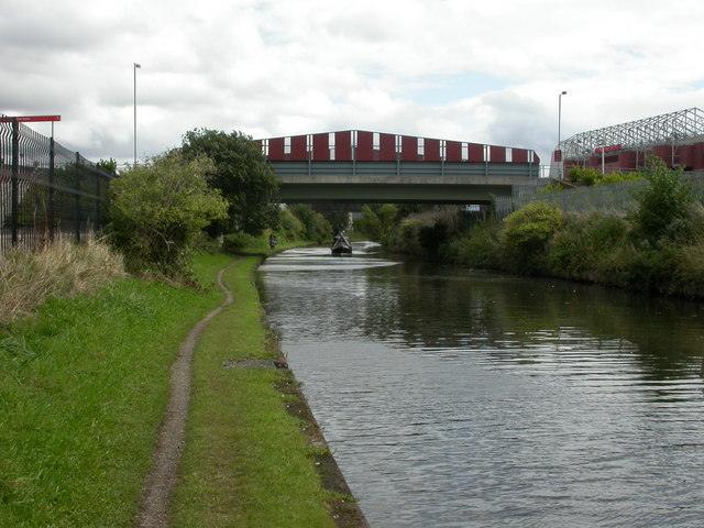 Trafford Park, bridge