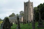 Chagford church and churchyard