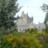 Cawdor Castle, from the gardens.