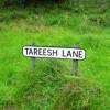 Sign, Tareesh Lane, Teconnaught