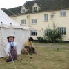 Fair on the Yare - competitors in the scarecrow competition