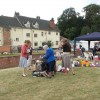 Stalls at the Fair on the Yare