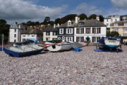 Budleigh Salterton: South Parade and the beach