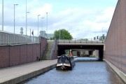 Trent and Mersey Canal in Stoke on Trent