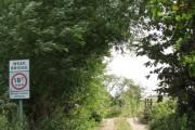 Weak bridge on Damgate Lane