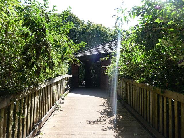Paignton : Paignton Zoo, The Marie Le Fevre Ape Centre