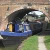 Passing through Lock 14  (14) Leaving the lock and under Bridge 15