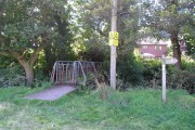 Footpaths and footbridge