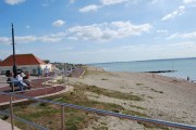 The beach at Lee-on-the-Solent