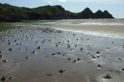 Coiled Castings at Three Cliffs Bay