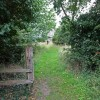 Path to St Gregory's Church, Heckingham, Norfolk