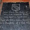 St Gregory's Church, Heckingham, Norfolk - Ledger slab