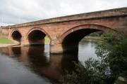 A road bridge over the River Annan