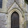 Side door to St Oswald's, Thornton in Lonsdale