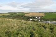 Farmland beyond Abereiddy