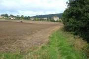 Farmland near Wrench Green