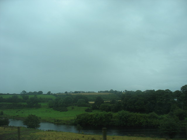 The Mourne River between Victoria Bridge and Sion Mills