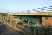 The new Yoxall Bridge