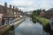 View of the River Colne from Courtauld Mill