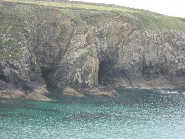 Caves in Caerfai Bay