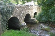 Roadbridge over the River Solva at Middle Mill