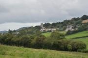 Goodleigh church and village