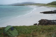 Wild camping at Coilleag a' Phrionssa