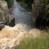 Looking over High force & the river Tees
