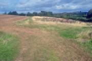 Dung heap south of Nook Farm