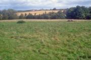 Farmland north of Packington
