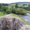 River Eamont from Brougham Castle