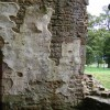 Ancient graffiti on an inside wall of Brougham Castle