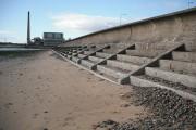 Leven sea wall
