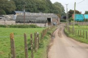 Farmyard ahead