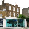Sensitive 21st C architectural addition to a late 18th C house, Kentish Town Road, NW5