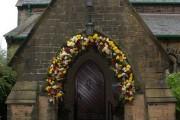 Doorway.  St.James the Great, Heskin