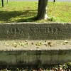 Commemorative stone seat, Old Milverton