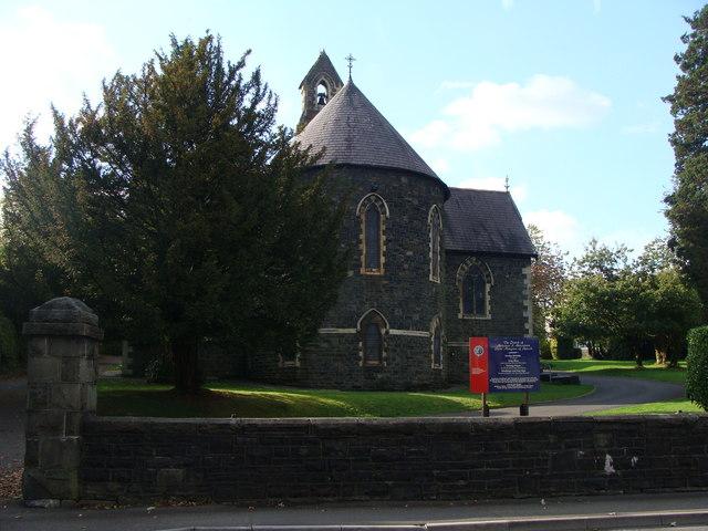 The church of St Margaret of Antioch, Aberaman