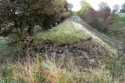 Missing bridge on Lord Carlisle's Railway