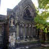 Part of the remains of Christ Church, Crewe