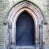 The west door of Christ Church, Crewe