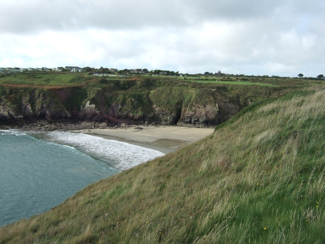 Caerfai Bay from the east