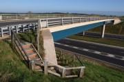Bridge over A30, Merrymeet